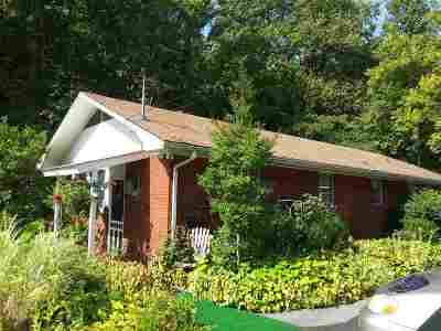 Gatlinburg Single Family Home For Sale: 1414 E Parkway