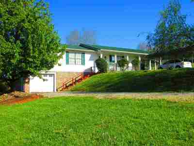 Grainger County Single Family Home Temporary Active: 957 Hoppers Bluff