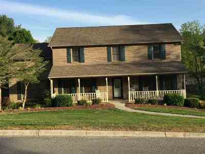 Morristown Single Family Home For Sale: 1345 Pin Oak Dr.