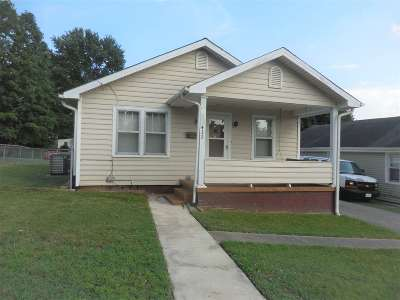 Morristown TN Single Family Home For Sale: $69,900
