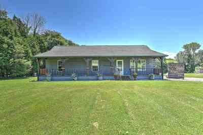 Single Family Home For Sale: 7560 Horton Highway