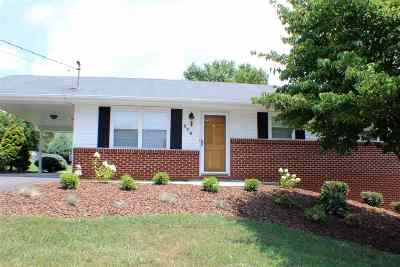 Single Family Home For Sale: 310 Western Heights Dr