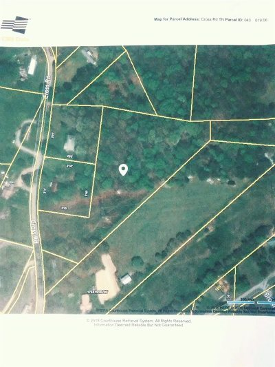 Grainger County Residential Lots & Land For Sale: Cross Rd.