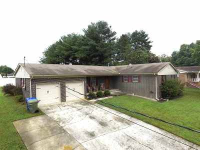 Morristown Single Family Home For Sale: 1725 Russell Street