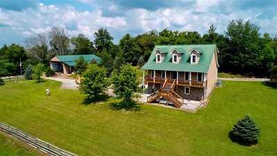 Single Family Home For Sale: 3192 Salem Rd