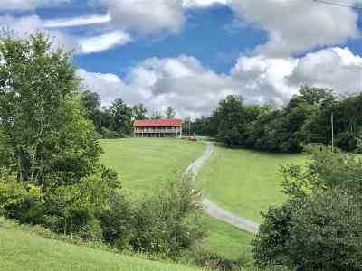 Morristown Single Family Home For Sale: 3995 Chucky River Road