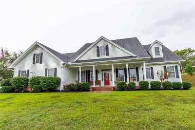 Single Family Home For Sale: 2325 Keetoowah Trail