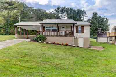 Jefferson County Single Family Home For Sale: 2182 Mansfield Gap Road