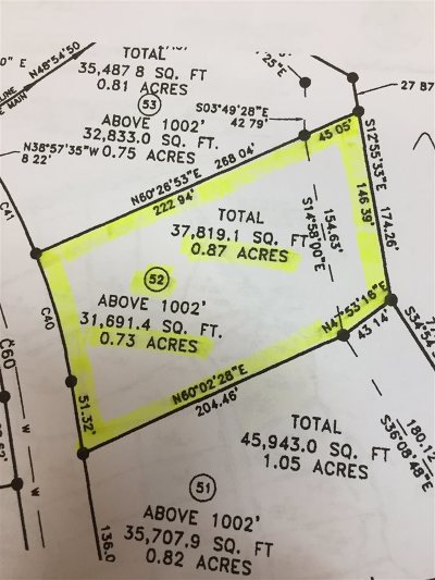 Dandridge Residential Lots & Land For Sale: Lot 52 Majestic Circle