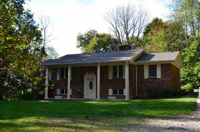 Single Family Home For Sale: 2077 W Trent Valley Rd
