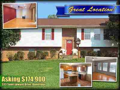 Dandridge Single Family Home For Sale: 333 Saint Edward Drive
