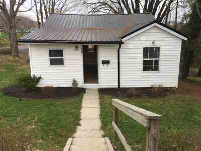 Single Family Home For Sale: 310 Holston Street