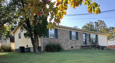 Morristown Single Family Home For Sale: 1390 Murrell Road