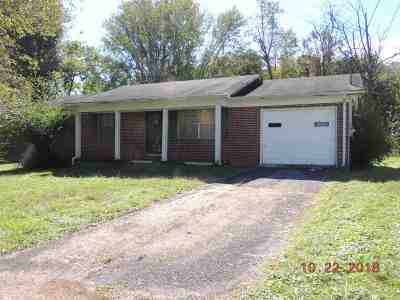 Single Family Home For Sale: 1606 Kennedy Circle