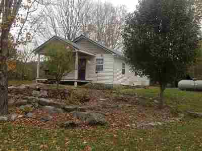 Grainger County Single Family Home For Sale: 360 Rocky Flat Road