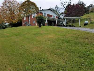 Single Family Home For Sale: 396 Caney Valley Rd