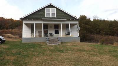 Single Family Home For Sale: 921 Little Caney Valley Rd