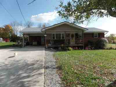 Morristown TN Single Family Home For Sale: $122,000