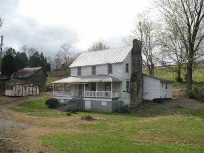 Morristown Single Family Home For Sale: 1646 Thompson Creek Rd
