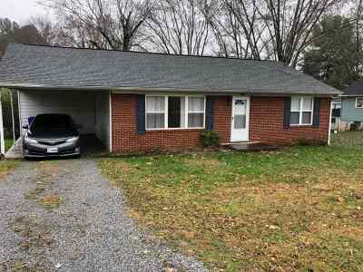 Morristown Single Family Home For Sale: 1711 Cherokee Dr