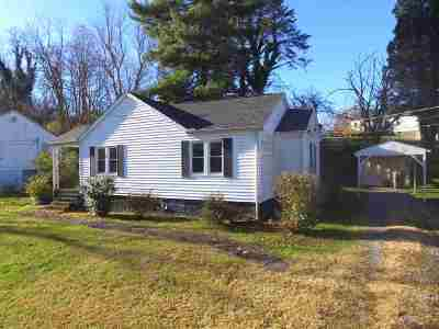 Morristown Single Family Home For Sale: 342 Beech Street