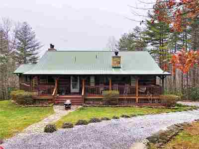 Cocke County Single Family Home For Sale: 4710 Laws Rd