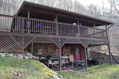 Single Family Home For Sale: 600 Heck Branch Road
