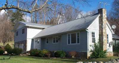 Cosby Single Family Home For Sale: 390 Greasy Cove Road