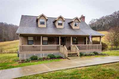Morristown Single Family Home For Sale: 2736 Robinson Creek