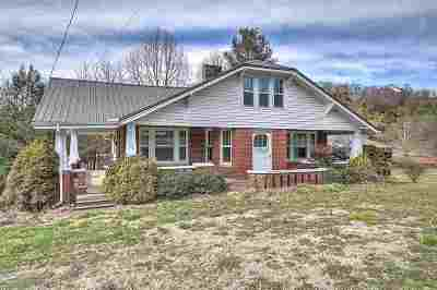 Single Family Home For Sale: 720 Chuckey Pike