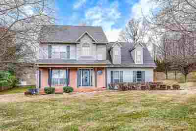 Morristown Single Family Home For Sale: 4522 Holly Tree Ln