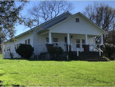Single Family Home For Sale: 4790 Kingsport Hwy