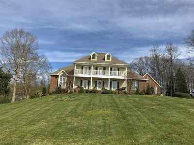 Single Family Home For Sale: 1229 Country Club Rd