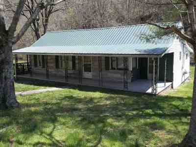 Bean Station, Thorn Hill, Rutledge, Washburn, Blaine Single Family Home For Sale: 3434 Indian Creek Rd