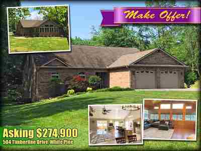 White Pine TN Single Family Home For Sale: $289,900