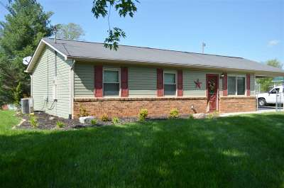 Rogersville Single Family Home For Sale: 327 Guntown Road