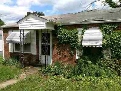 Morristown Single Family Home For Sale: 1260 Kasey St