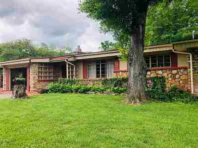 Single Family Home For Sale: 425 W Carson Springs Rd.