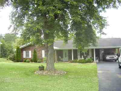 Newport Single Family Home For Sale: 1592 Green Acres Dr.