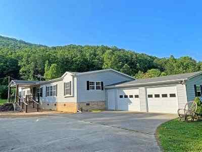 Hawkins County Mobile/Manufactured For Sale: 295 High Rock Rd.