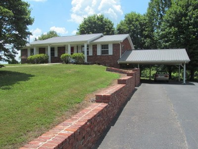 Single Family Home For Sale: 525 S Carter School Road
