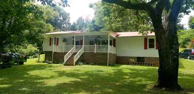 Grainger County Single Family Home Active-Contingent: 665 Tater Hill Rd