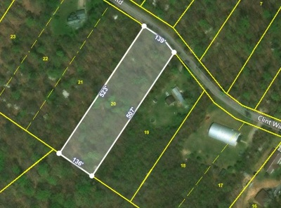 Rutledge TN Residential Lots & Land For Sale: $10,500