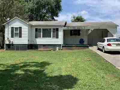 Morristown TN Single Family Home For Sale: $65,000