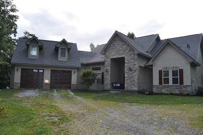 Single Family Home For Sale: 349 Faith Mtn Way