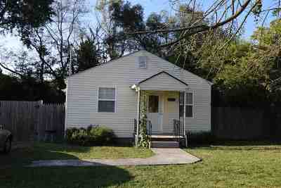 Morristown TN Single Family Home For Sale: $59,900
