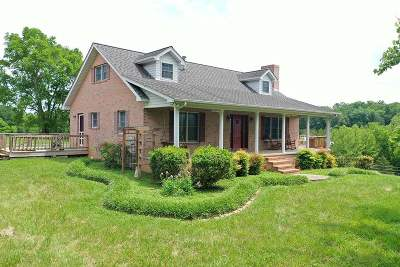 Single Family Home For Sale: 1754 Muddy Creek Rd