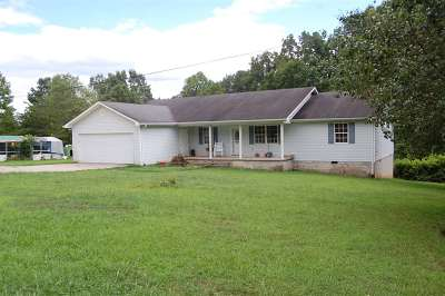 Athens TN Single Family Home Sold: $126,000