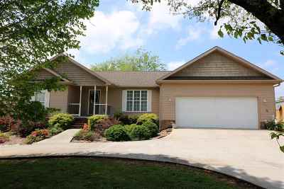 Sweetwater Single Family Home For Sale: 859 Oakland Road