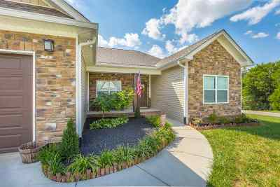 Dry Valley Pointe Single Family Home Contingent: 165 Gentle Mist NE